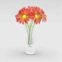 daisy color 3d max