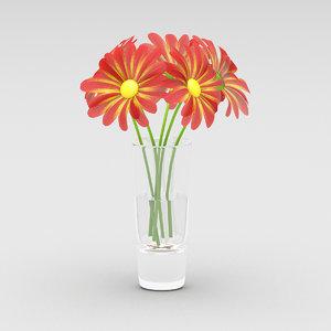 daisy color 3d max