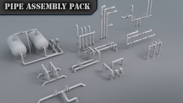 max pipe assembly pack