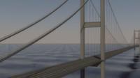 3ds max bosphorus bridge istanbul