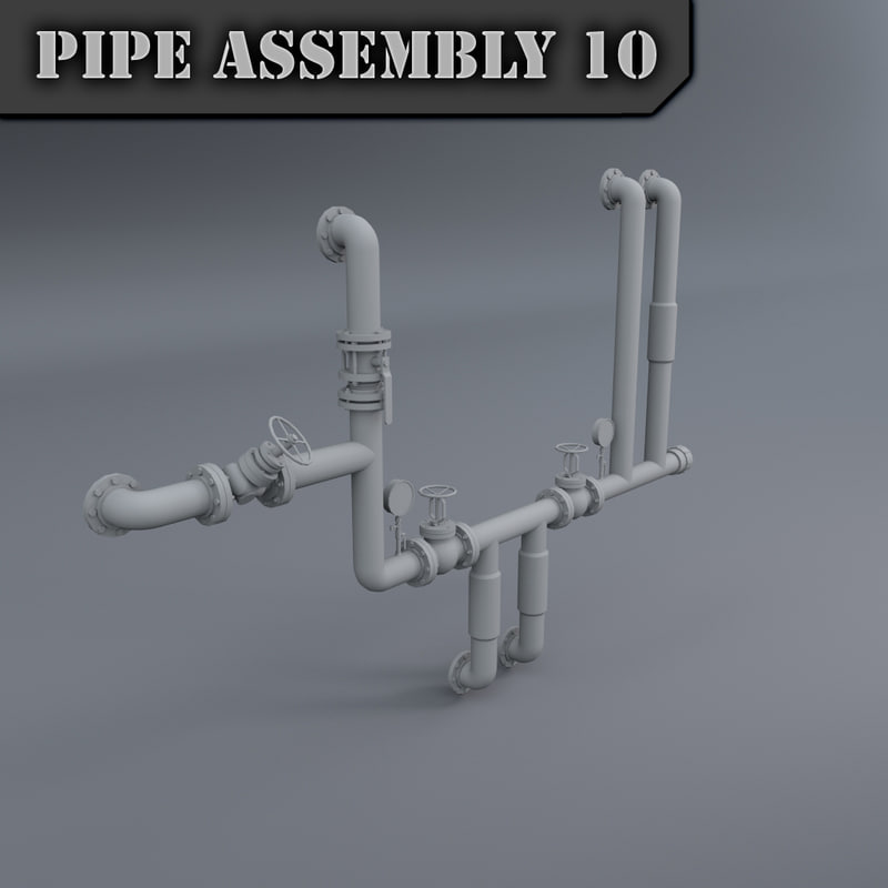 3d pipe assembly