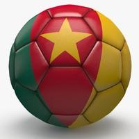 3d soccerball pro ball model