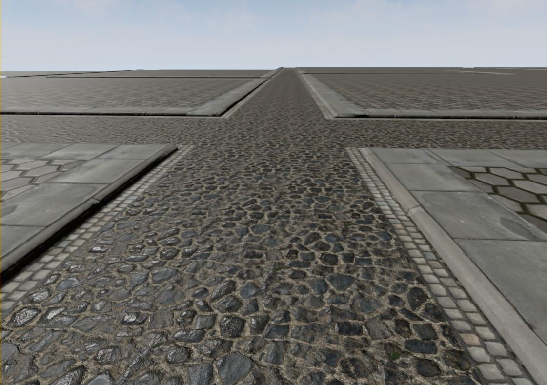 modular streets tunnel 3d model