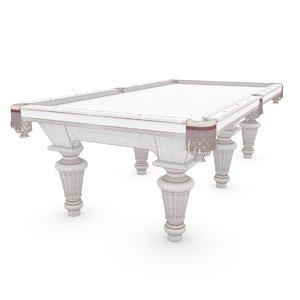 max classic billiard table