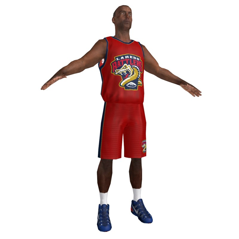 3d basketball player