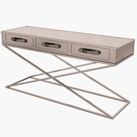 eichholtz table console barclay 3d model