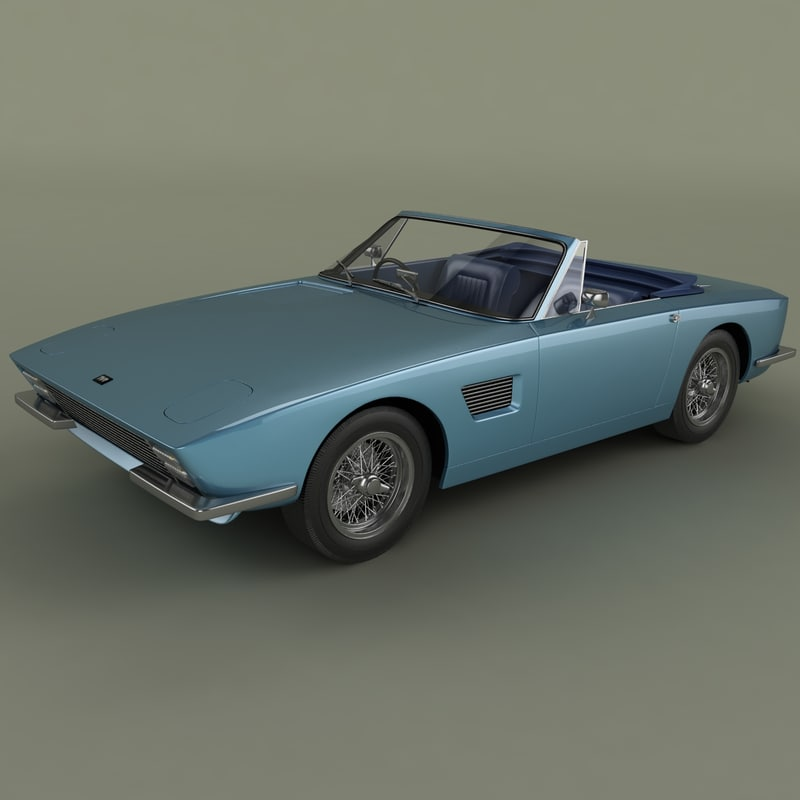 3ds max 1967 tvr trident convertible
