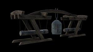 ancient bell 3d max