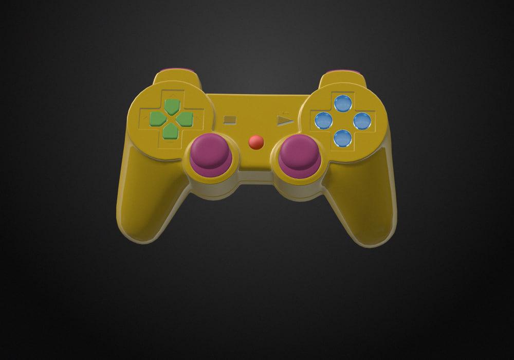 3d gamepad sony model