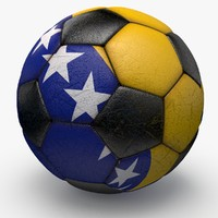 3d soccerball ball