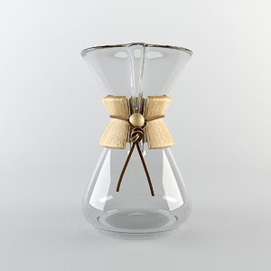 3d chemex coffee maker