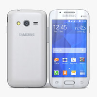 3d samsung galaxy v white model