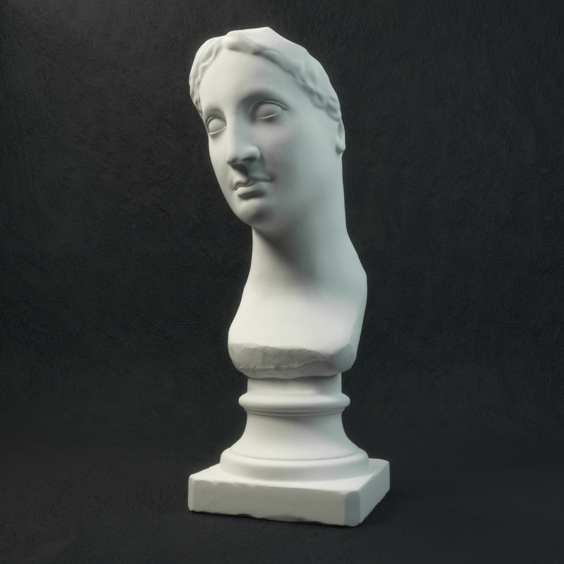 3d venus statue