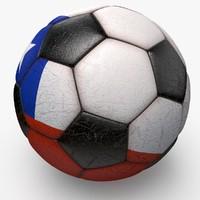 3d soccerball ball