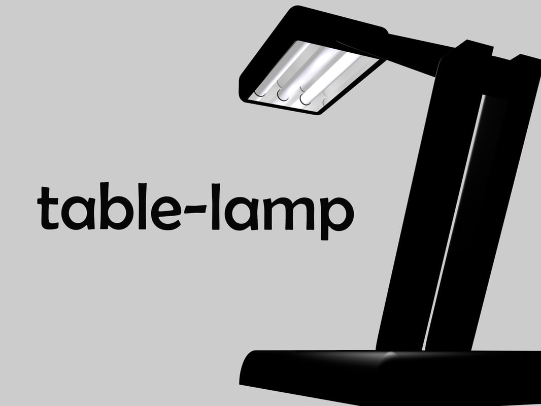 free c4d model modern lamp