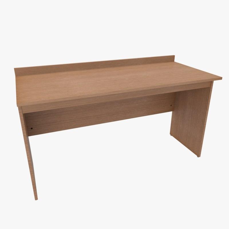 3dsmax desk table