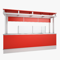3ds max concession stand