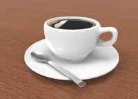 coffe cup 3d obj
