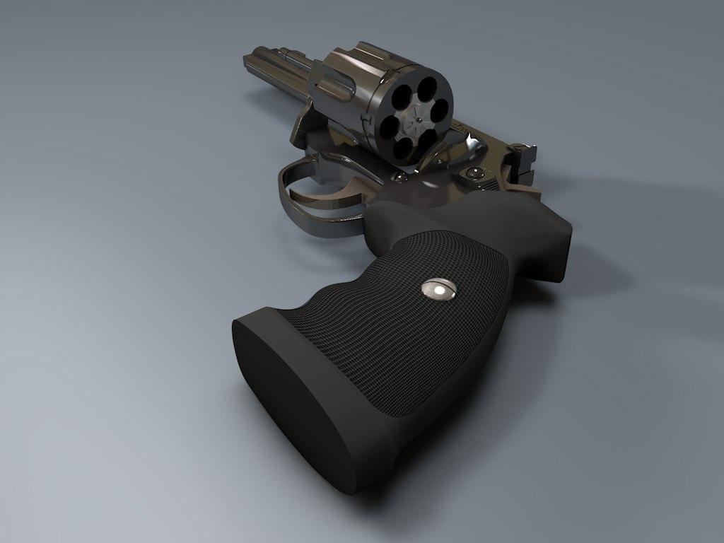 3d magnum guns weapon