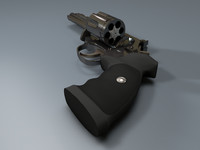 3d magnum guns weapon