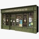 Pharmacy 3D models