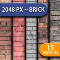 15 HD Brick Textures