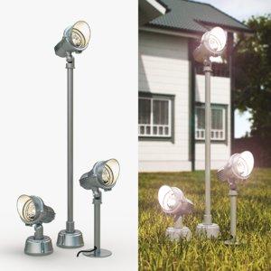 obj easylite gu10 lamps lights