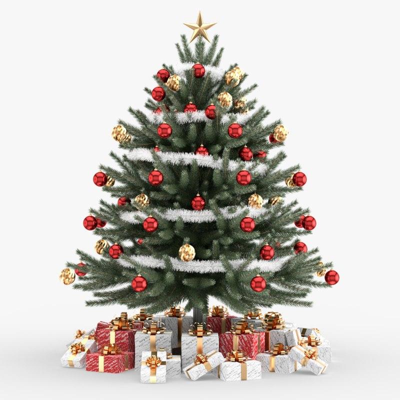 3d model christmas tree