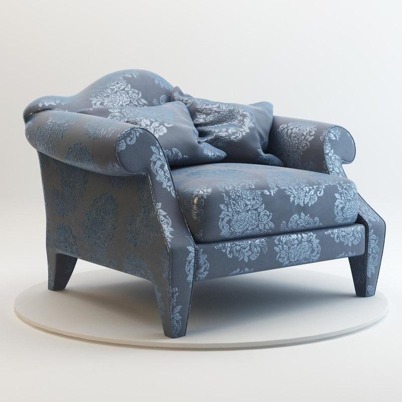 kent armchair donghia max