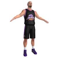 3d basketball player 6