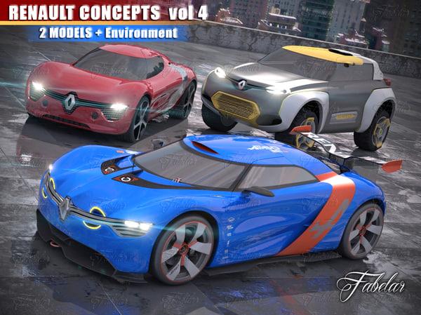 3ds renault concepts vol 4