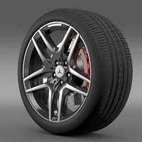 AMG Mercedes Benz S 500  wheel