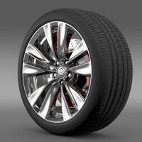Nissan Fuga wheel