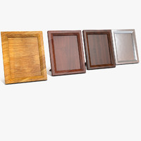 Table Wood Photo Frame