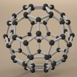 carbon fullerene fuller 3ds