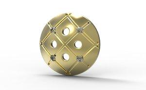 free 3ds mode golden button gold