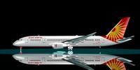 3d max air india 787-8 787