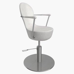 salon chair hair 3d max