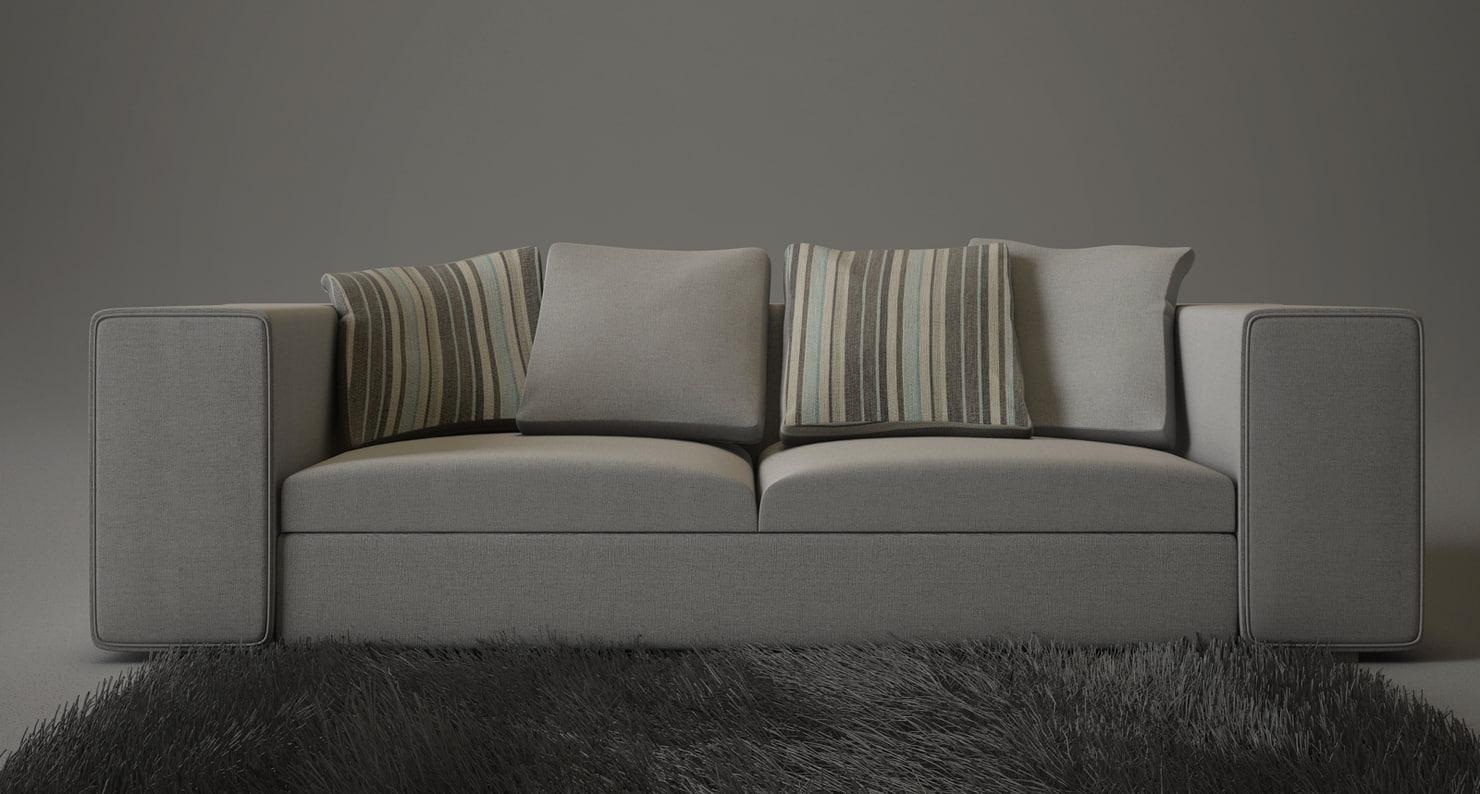 3d springfield sofa moroso
