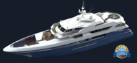 euro yacht 3d model