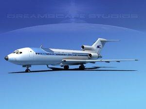 obj airline boeing 727 727-100