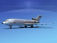 Boeing 727-100 American Airlines 1
