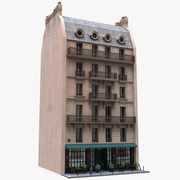 3d model france tenement
