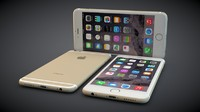 iphone 6 colors 3d c4d