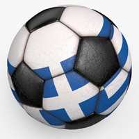 3d soccerball ball model