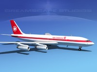 707-320 airlines boeing 707 dxf