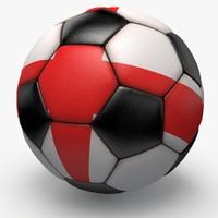 soccerball pro ball black dxf