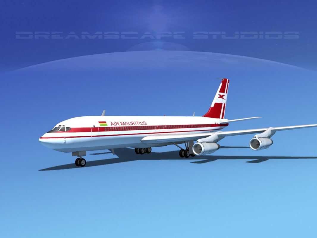 dxf 707-320 airlines boeing 707