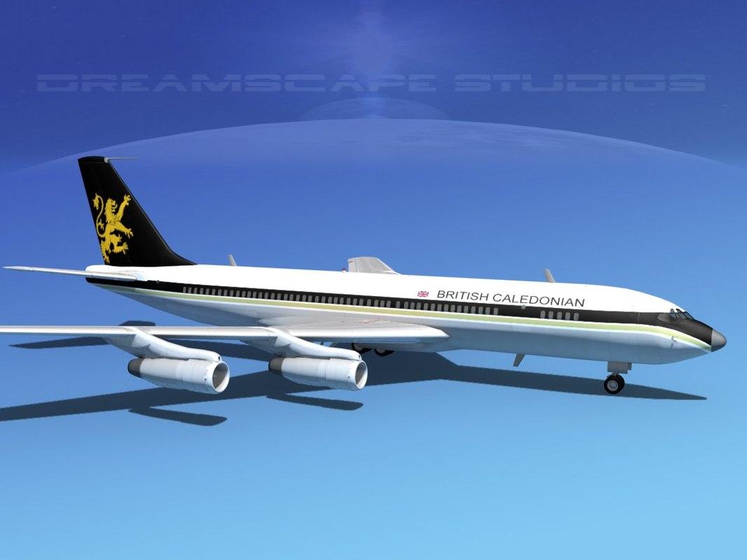 707-320 airlines boeing 707 obj