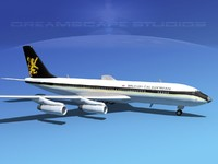 707-320 airlines boeing 707 obj